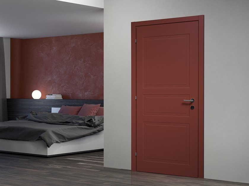 Hinged lacquered door LIGHT by DIERRE