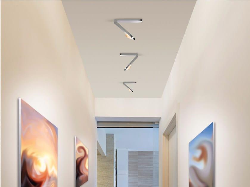 LED swivel ceiling lamp with swing arm LIGHT FINGER | Ceiling lamp by Top Light