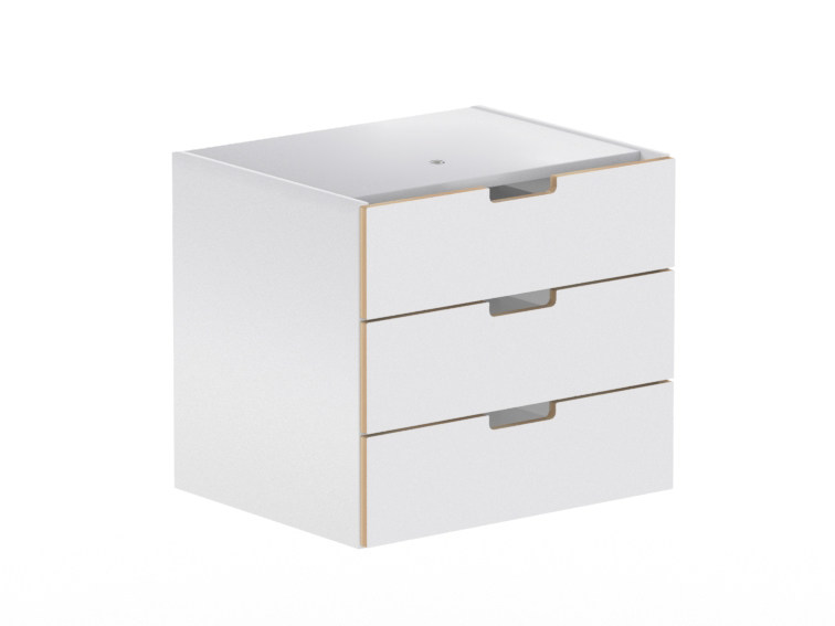 Modular office drawer unit LIGHT | Office drawer unit by NARBUTAS
