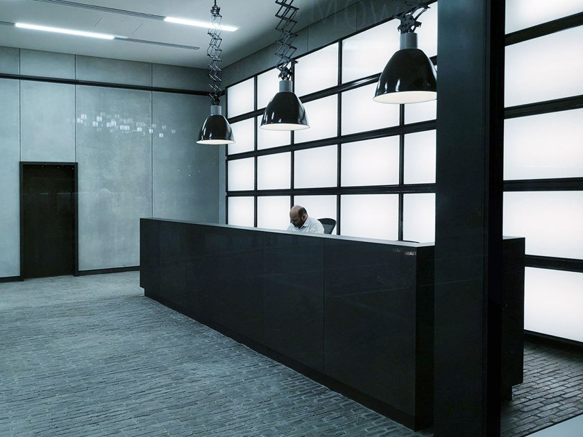 Pannello retroilluminato a LED a parete LIGHT PANEL HYBRID WALL by Flexlite