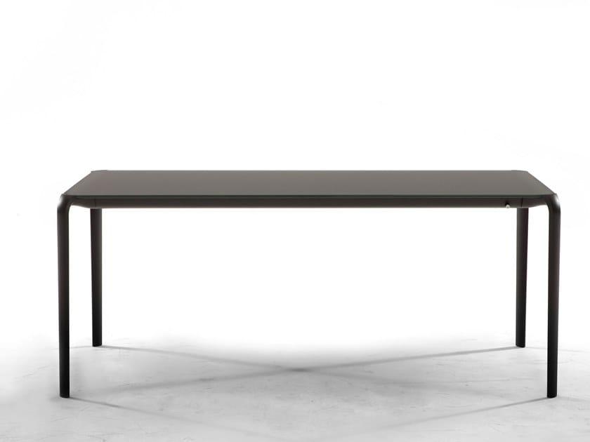 Extending rectangular table LIGHT by Tonin Casa