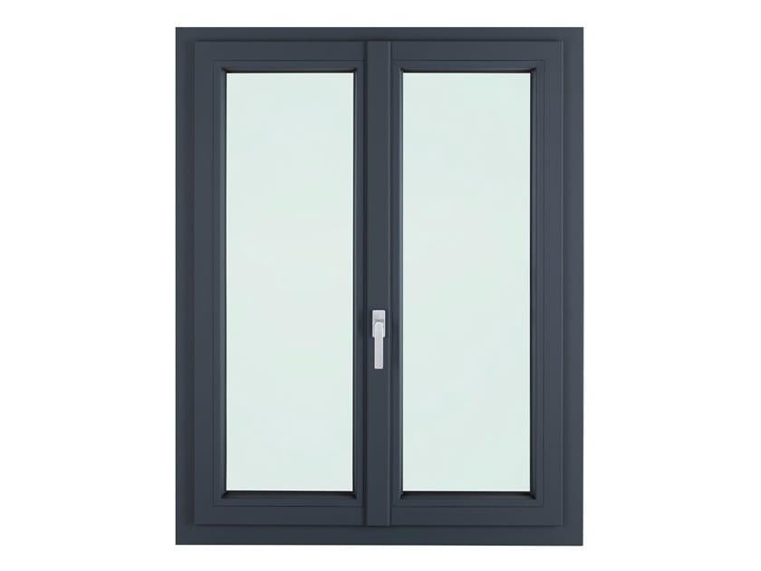 PVC triple glazed window LIGHTEK PLUS by FOSSATI SERRAMENTI