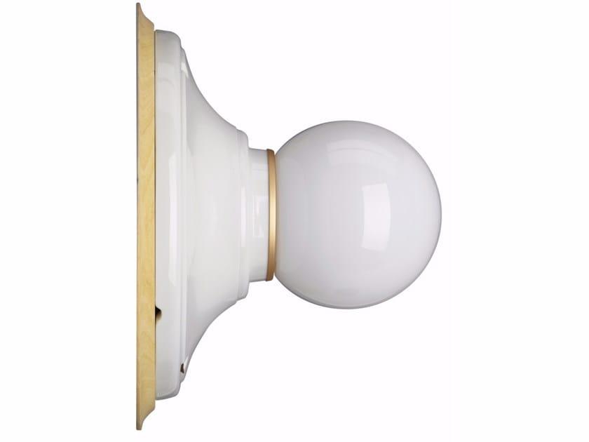 Porcelain wall lamp Wall lamp by GI Gambarelli
