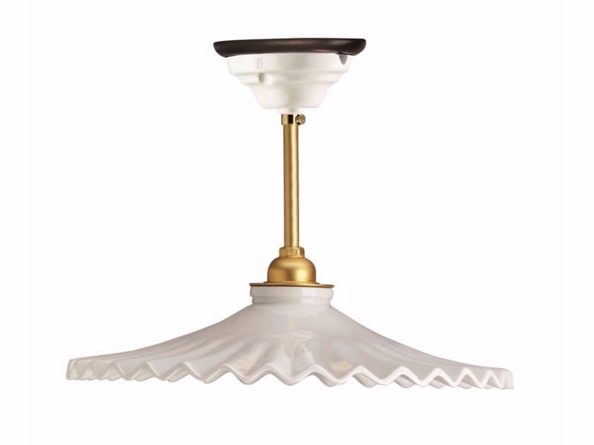 Porcelain pendant lamp VENTAGLIO | Pendant lamp by GI Gambarelli