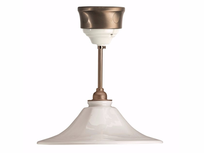 Porcelain pendant lamp FUSION - GODET | Pendant lamp by GI Gambarelli