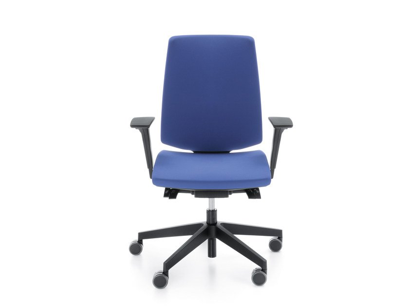 Task chair with 5-Spoke base with armrests LIGHTUP 230STL by profim