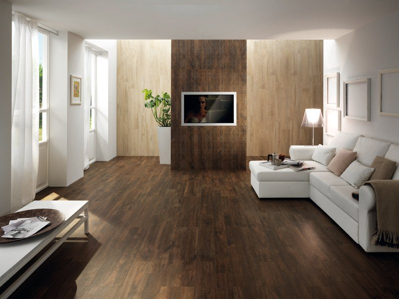 Porcelain stoneware wall/floor tiles with wood effect LIGNUM NUX by La Fabbrica