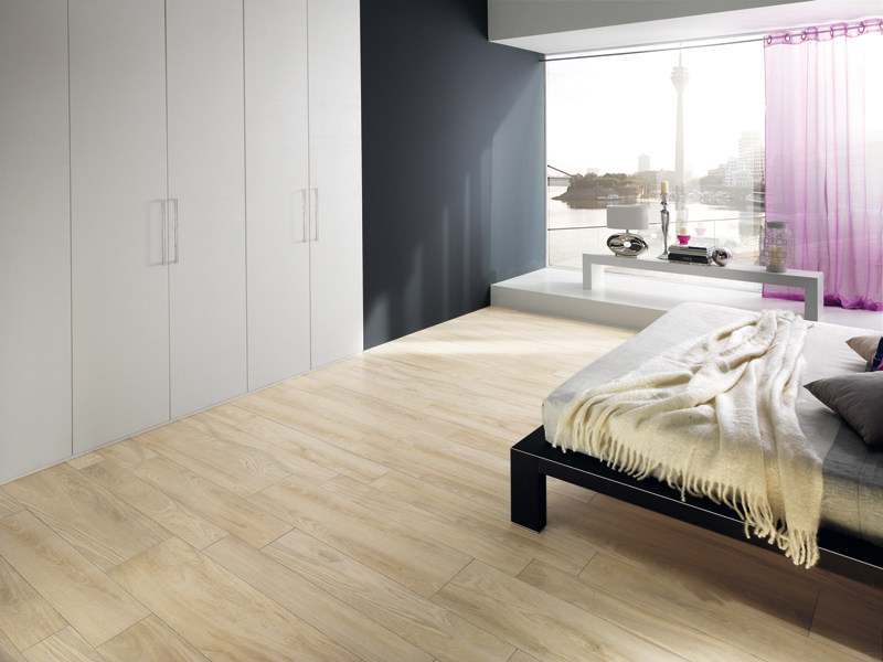 Porcelain stoneware flooring with wood effect LIGNUM ROBUR by La Fabbrica