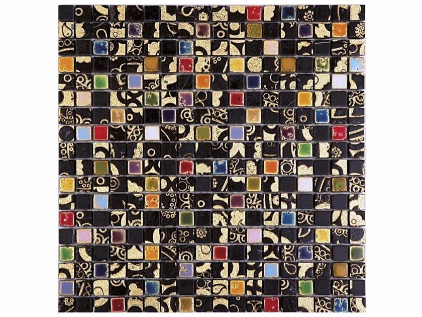 Marble mosaic BOITE - CONTEMPORARY BOX - LIKU 15 by Lithos Mosaico Italia