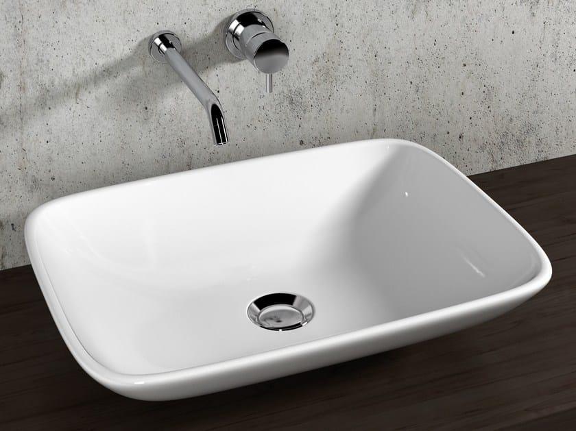 Contemporary style countertop ceramic washbasin VANITY WASHBASINS   Washbasin by Olympia Ceramica