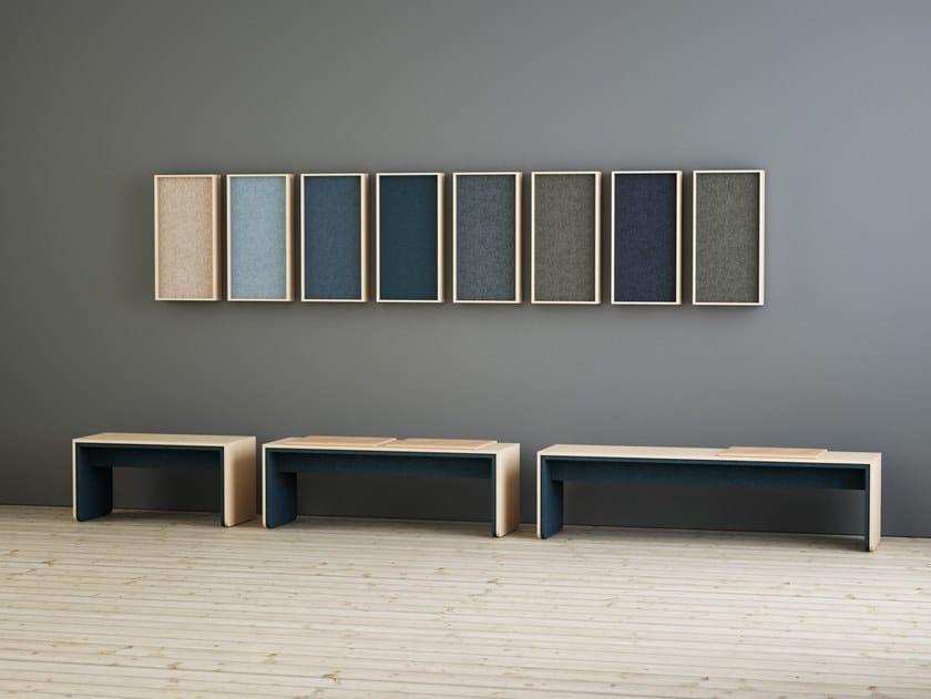 Decorative acoustic panel LIMBUS CAMPUS   Decorative acoustic panel by Glimakra of Sweden
