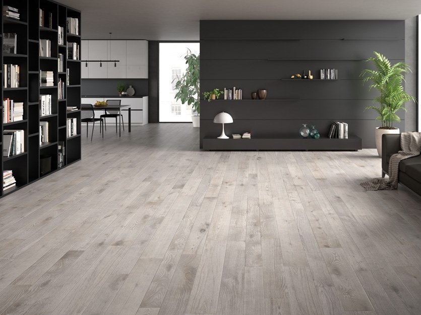 3 layers chestnut parquet LIME EFFECT CHESTNUT by CADORIN GROUP