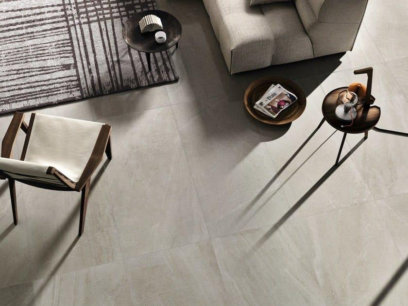Pavimento/rivestimento in gres porcellanato effetto pietra LIMESTONE ...