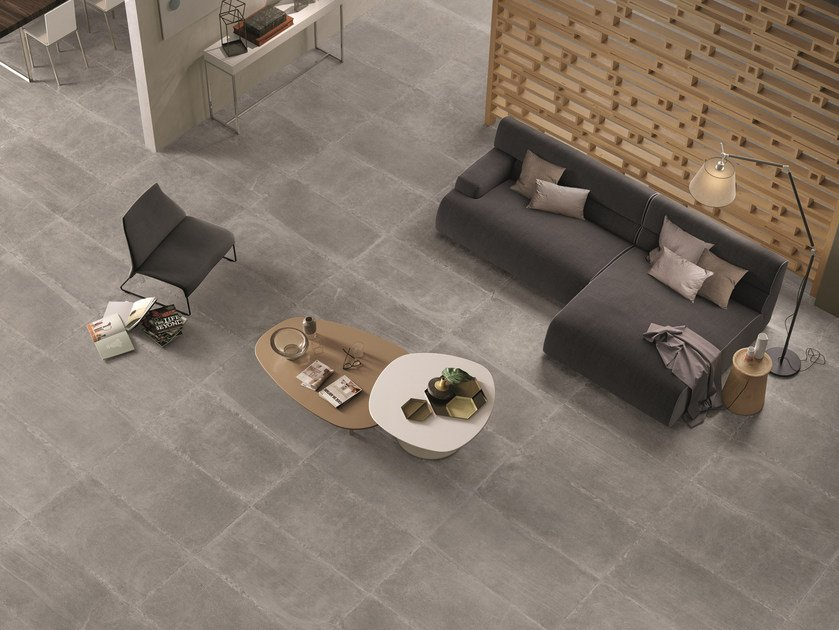 Indoor/outdoor porcelain stoneware wall/floor tiles LIMESTONE  LIGHT by Ergon by Emilgroup