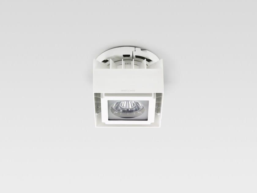 LED ceiling lamp LINDRO SQUARE MINI by Reggiani