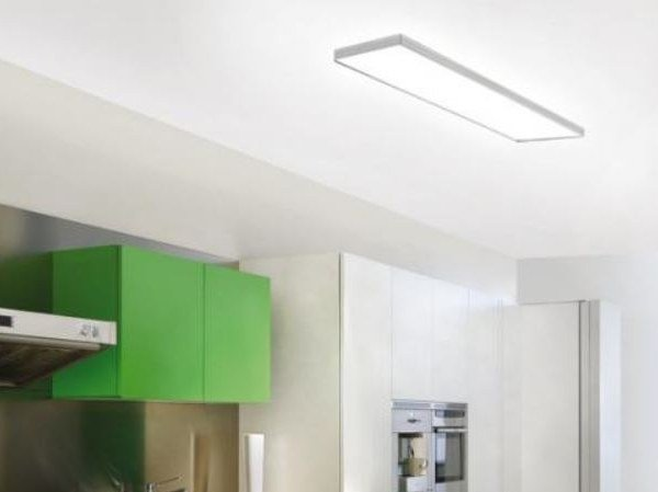 In 6222 Alluminio Linea Milan A Led Iluminacion Plafoniera qSUMzVp