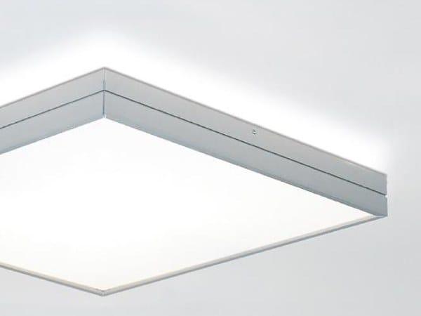 LED aluminium ceiling light LINEA 6499 by Milan Iluminacion