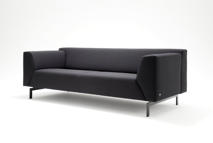 linea fabric sofa linea collection by rolf benz design cuno frommherz. Black Bedroom Furniture Sets. Home Design Ideas