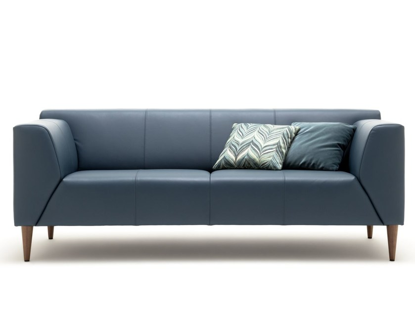 Rolf Benz Bank Linea.Linea Leather Sofa Linea Collection By Rolf Benz Design Cuno Frommherz