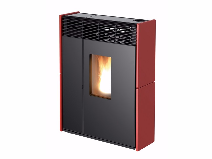 Pellet steel stove LINEA by MCZ GROUP