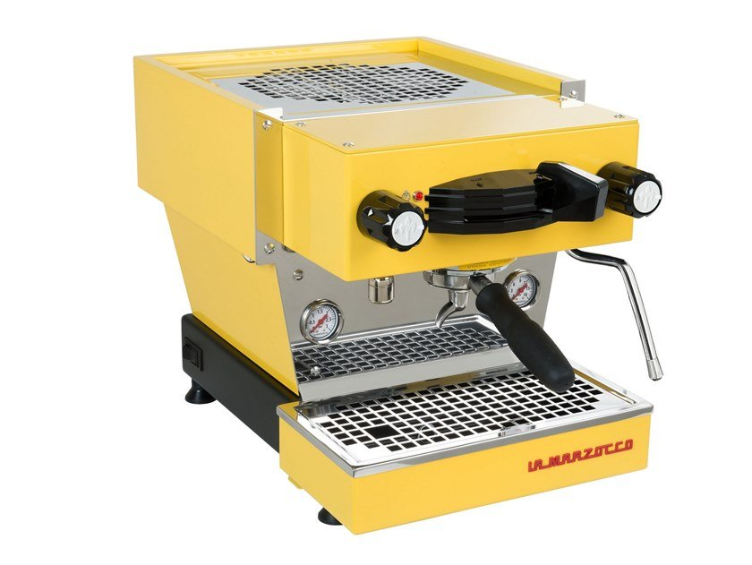 Macchina da caffè in acciaio inox LINEA MINI YELLOW by La Marzocco