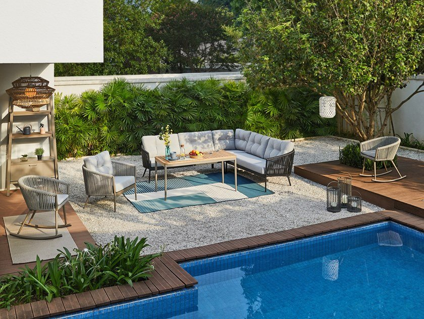 Lounge set LINEA | Lounge set by MOBIKA GARDEN