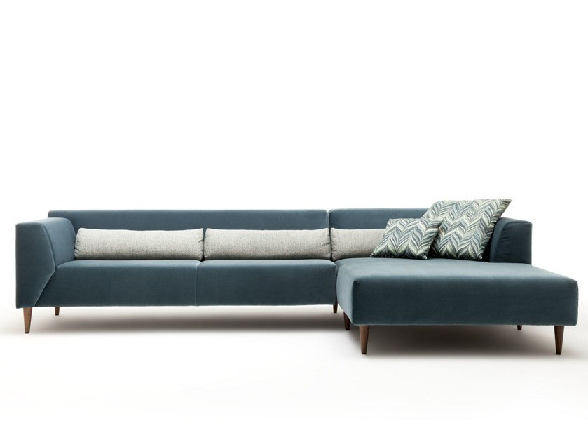Rolf Benz Bank Linea.Linea Sofa With Chaise Longue Linea Collection By Rolf Benz Design