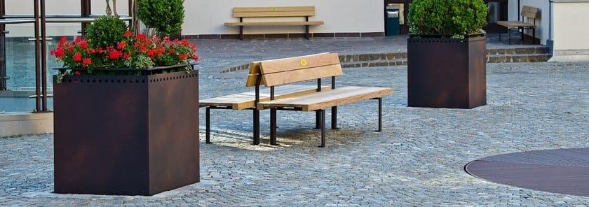 LINEAFIORE LIGHT   Fioriera per spazi pubblici in metallo