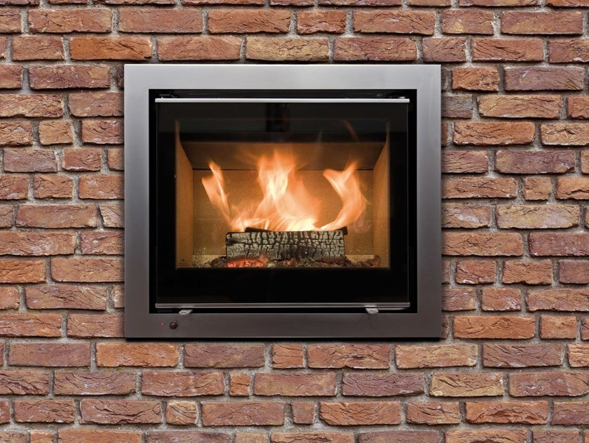 Wood Burning Fireplace Insert Linear Kassette M 700 By
