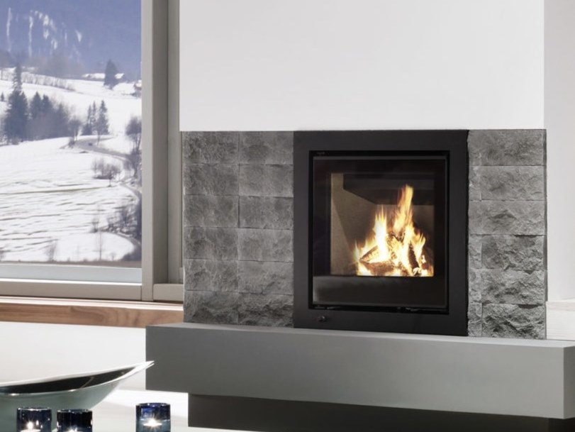 Wood Burning Fireplace Insert Linear Kassette S 600 By