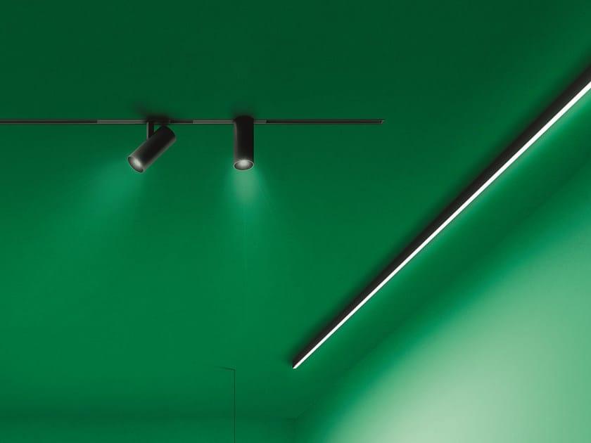 Ceiling mounted aluminium Linear lighting profile for LED modules A.15 | Linear lighting profile by Artemide
