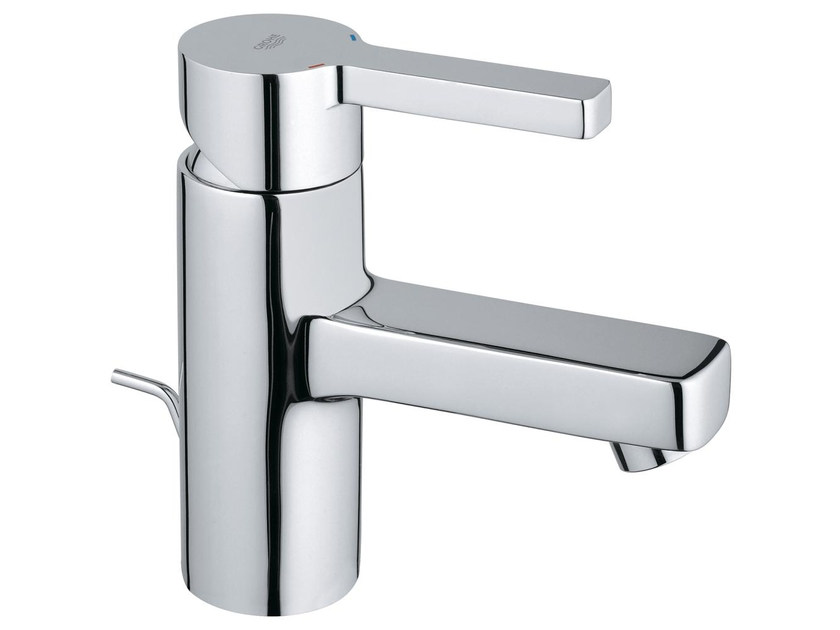 Countertop single handle washbasin mixer LINEARE SIZE S | Washbasin mixer with pop up waste by Grohe