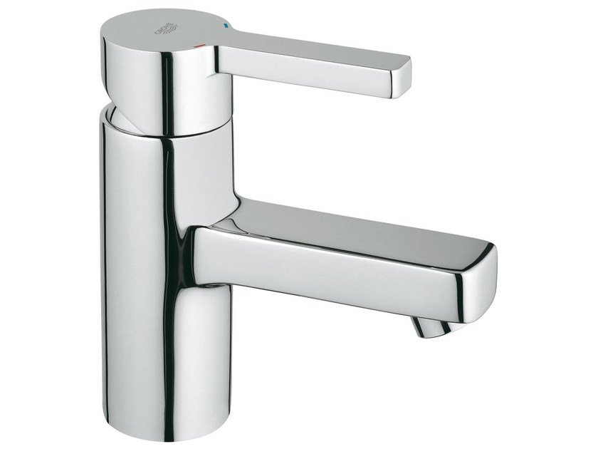 Countertop single handle washbasin mixer LINEARE SIZE S | Washbasin mixer without waste by Grohe