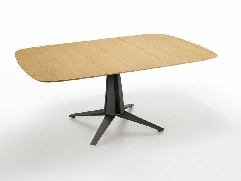 Contemporary style rectangular dining table LINK | Extending table by Midj