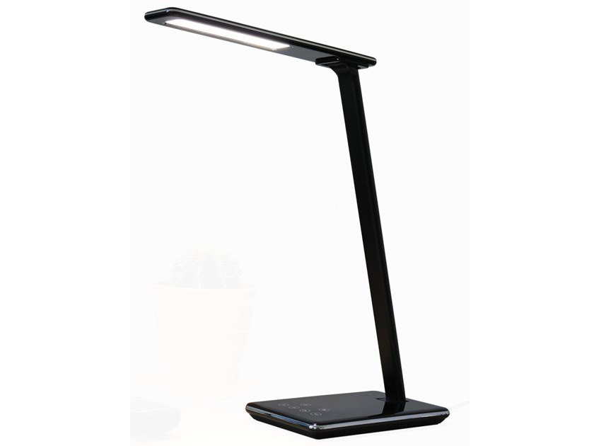 LED desk lamp with wireless charging LINKA by Unilux