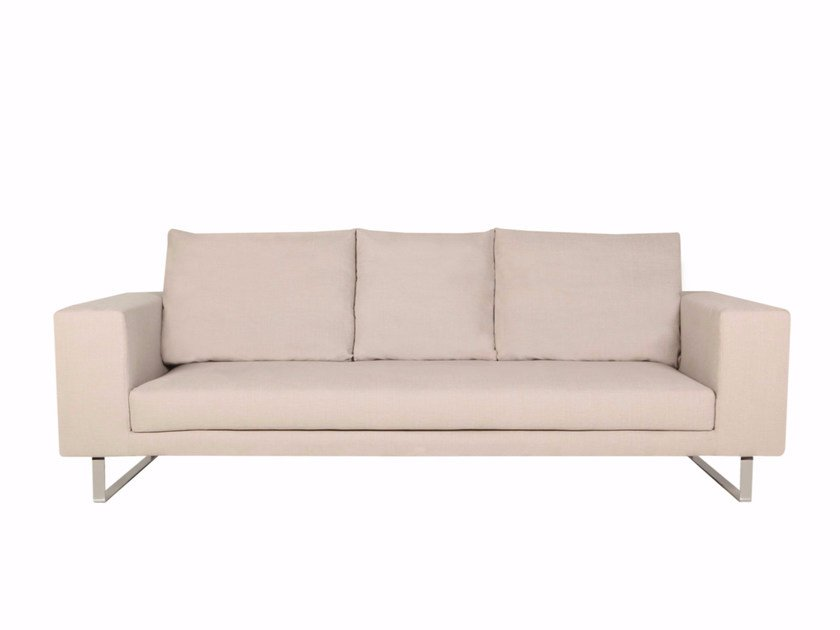 Upholstered 3 seater fabric sofa LINNEA | 3 seater sofa by SITS