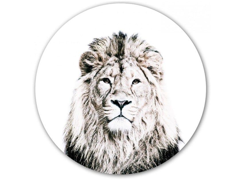 Decorazione adesiva a motivi in vinile LION   Decorazione adesiva by Groovy Magnets