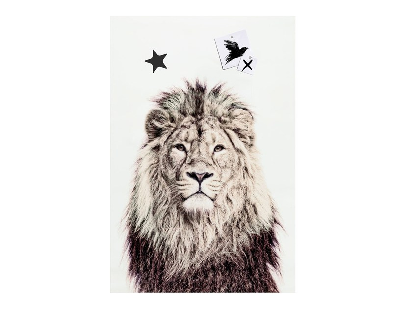 Magnetic poster LION by Groovy Magnets