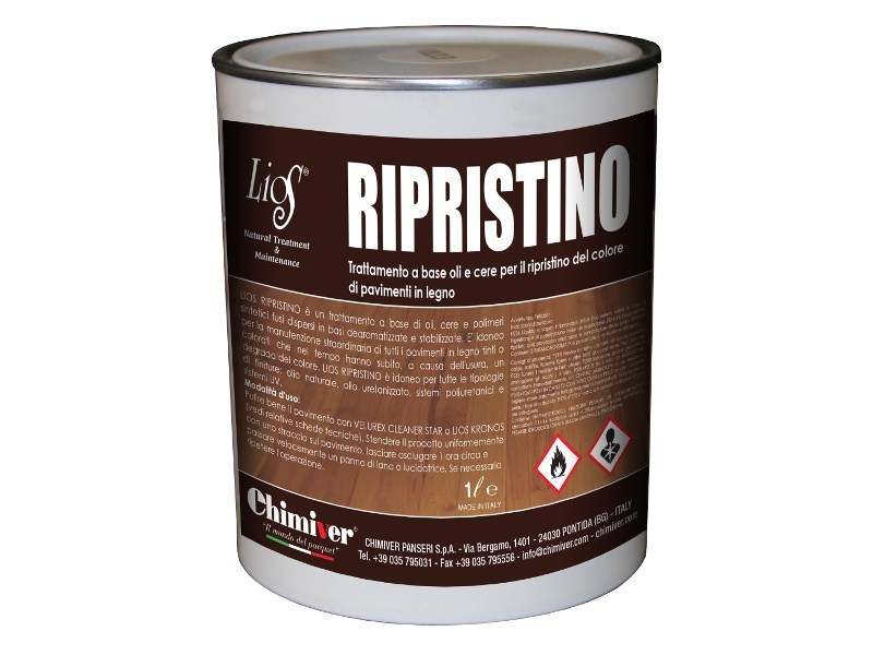 Flooring protection LIOS RIPRISTINO by Chimiver Panseri