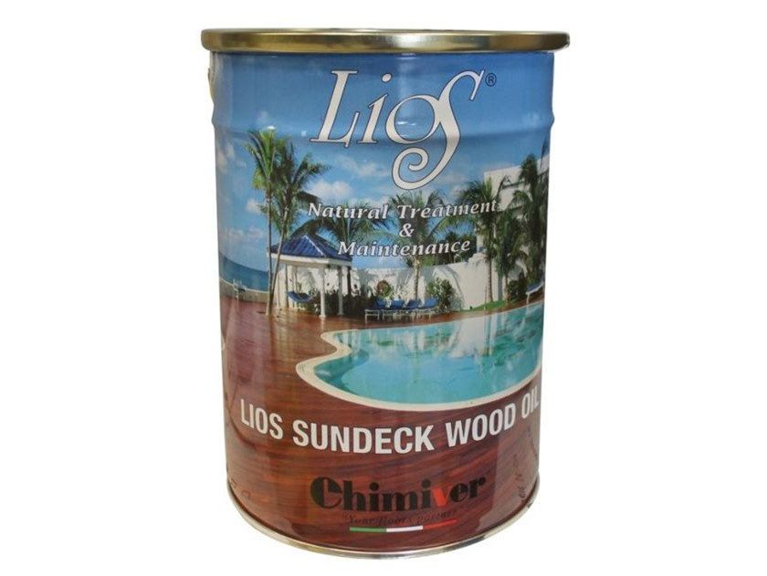 Wood treatment LIOS SUNDECK WOOD OIL COLORATO by Chimiver Panseri