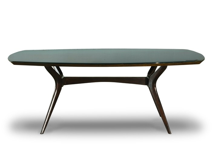 Lacquered rectangular table LIQUID LUNCH | Rectangular table by BAXTER