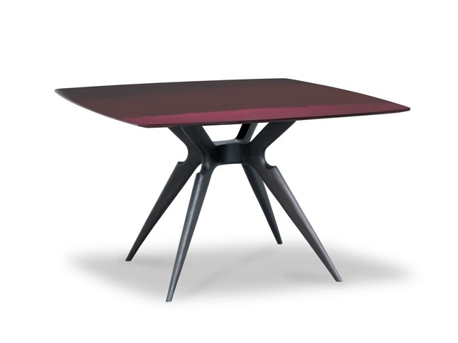 Lacquered square table LIQUID LUNCH | Square table by BAXTER