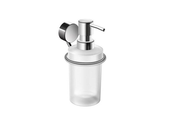 Wall-mounted glass liquid soap dispenser SYSTEM 815   Liquid soap dispenser by HEWI