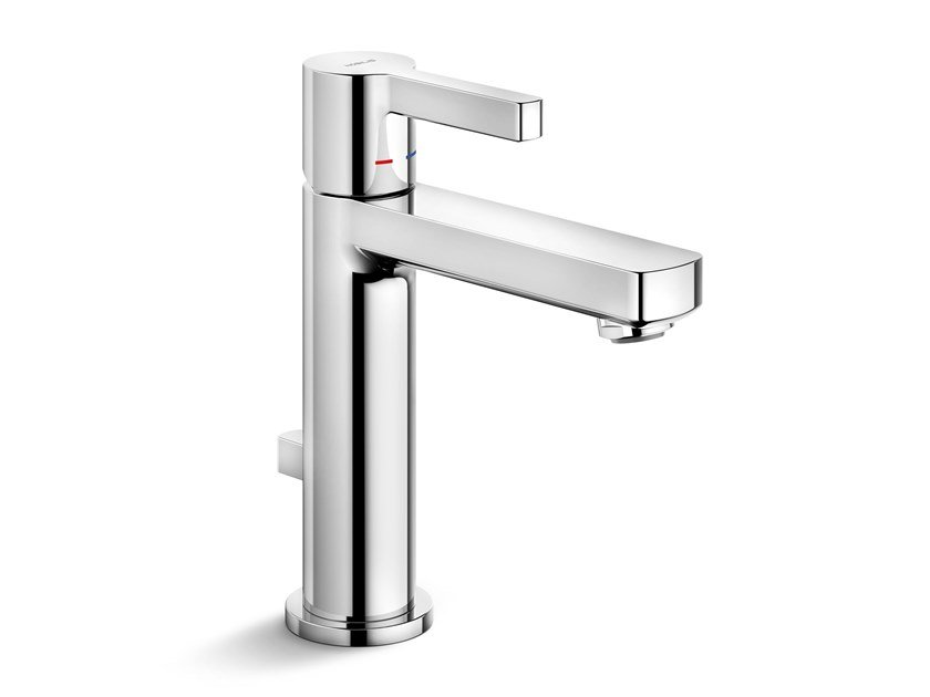 Single handle washbasin mixer with flow limiter LIRA UNO by Nobili Rubinetterie