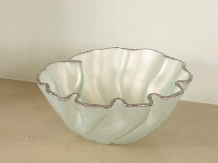 Glass centerpiece BOWL LIRIO by Gardeco