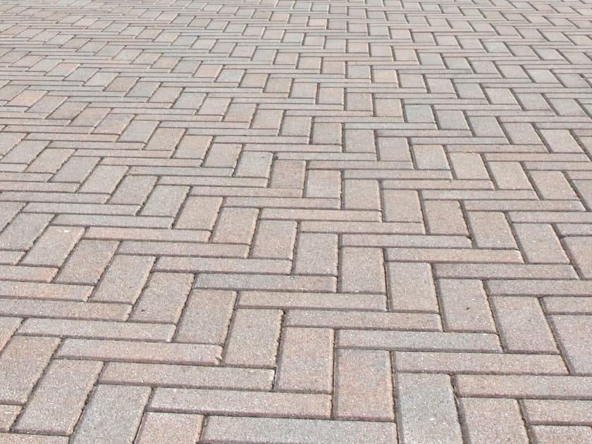 Concrete paving block LISTELLO by RECORD - BAGATTINI