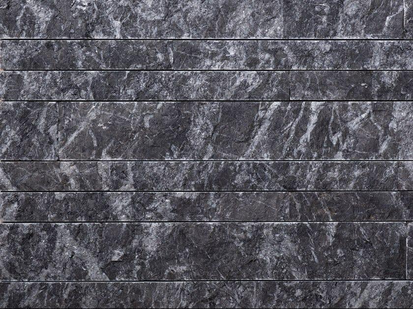 Natural stone wall tiles LISTHO NERO by B&B Rivestimenti Naturali