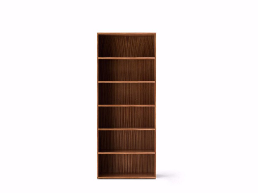 Contemporary style wooden bookcase LIT361 | Bookcase by Punt