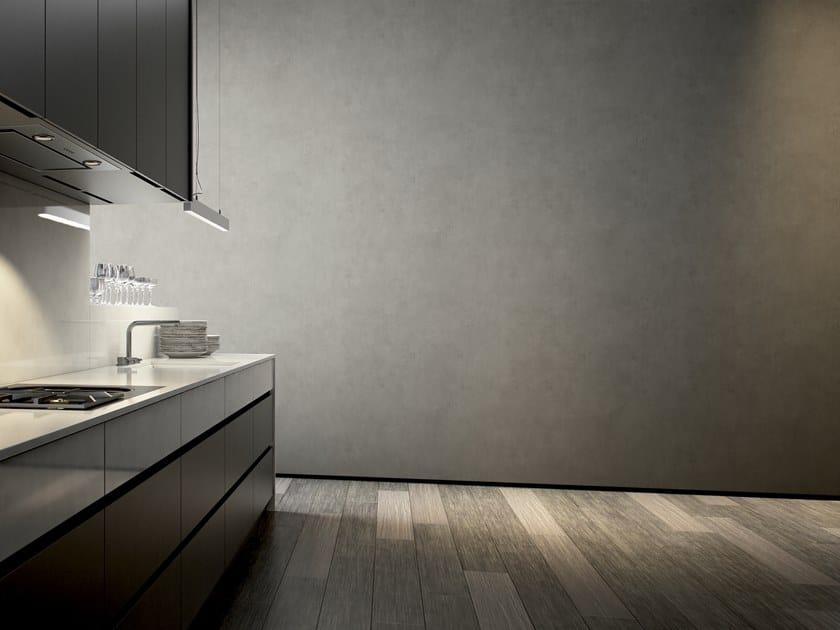 Wasserdichte Tapete aus GlamFusion™ im modernen Stil fürs Badezimmer ...
