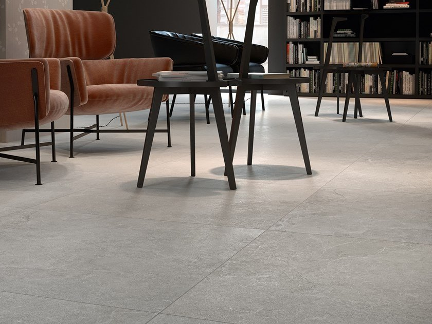 Porcelain stoneware wall/floor tiles with stone effect LITHOS STONE by COTTO D'ESTE